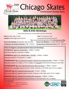 2016 Tryouts Flyer